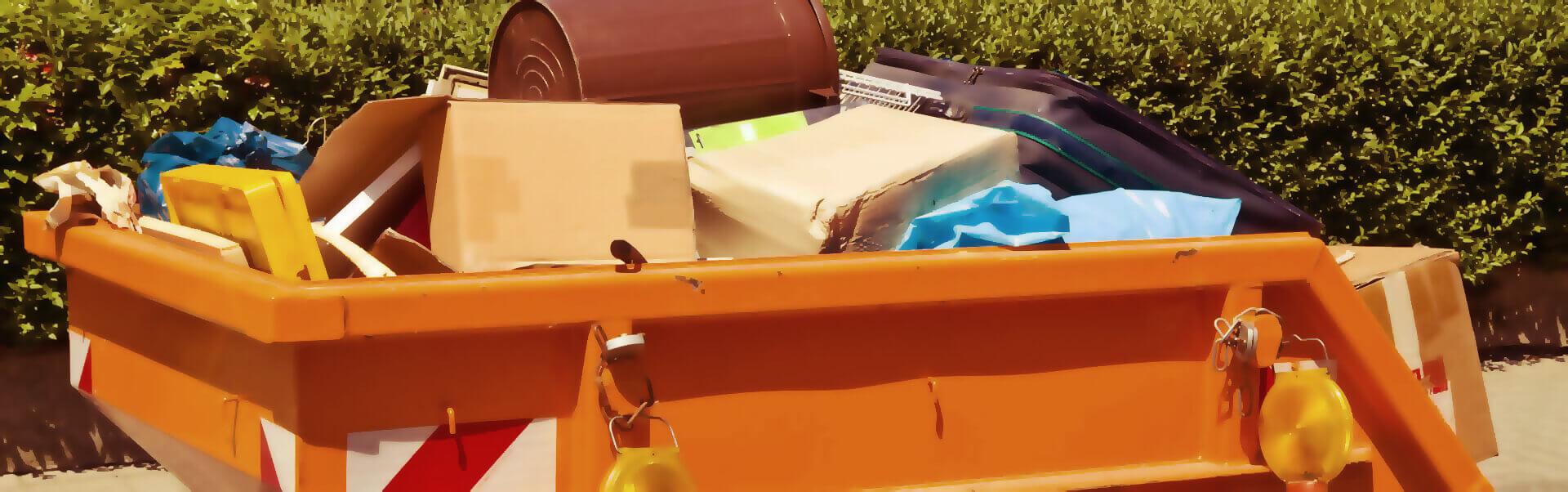 Containerdienst Header Bild